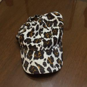 Leopard J. Crew Baseball Hat